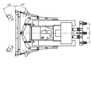 Bul'dozer B10M-gabaritno-massovye pokazateli-2